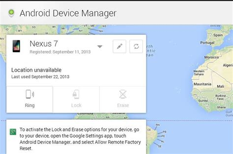 Android Device Manager by Android Device Manager Now Finding Lost Phones Whistleout