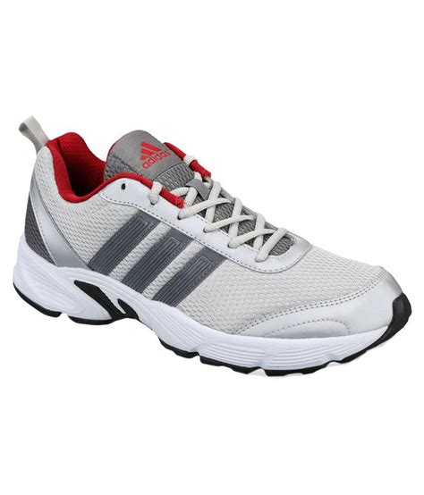 adidas white running sports shoes price in india buy