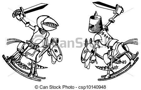 imagenes para colorear batalla de la victoria eps vector de batalla caballeros juguete battle de