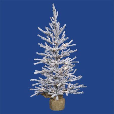 walmart flockedchristmastrees northlight 2 5 ft pre lit flocked pine artificial tree clear lights walmart