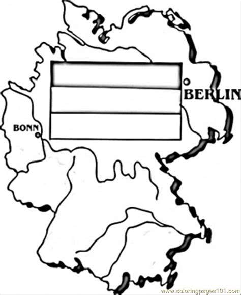 Map Of Germany Coloring Page Free Germany Coloring Pages Germany Coloring Page
