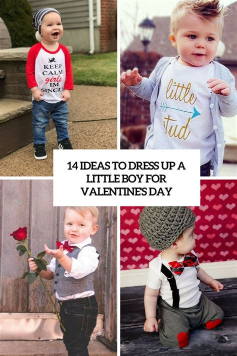 valentines day dress up ideas 14 ideas to dress up a boy for valentine s day