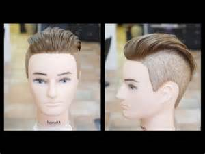 hairstyles boys step by step cut men s undercut haircut step by step tutorial thesalonguy