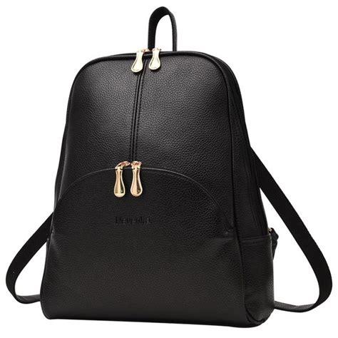 Ransel Wanita 1 tas ransel wanita preppy style black jakartanotebook