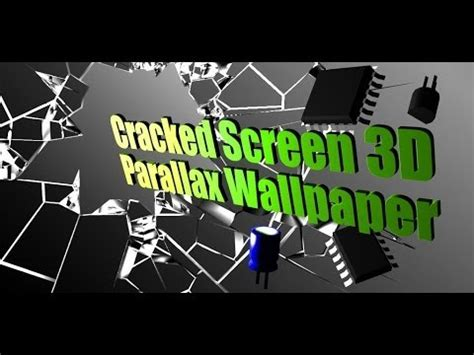 cracked screen gyro  pro parallax wallpaper hd android