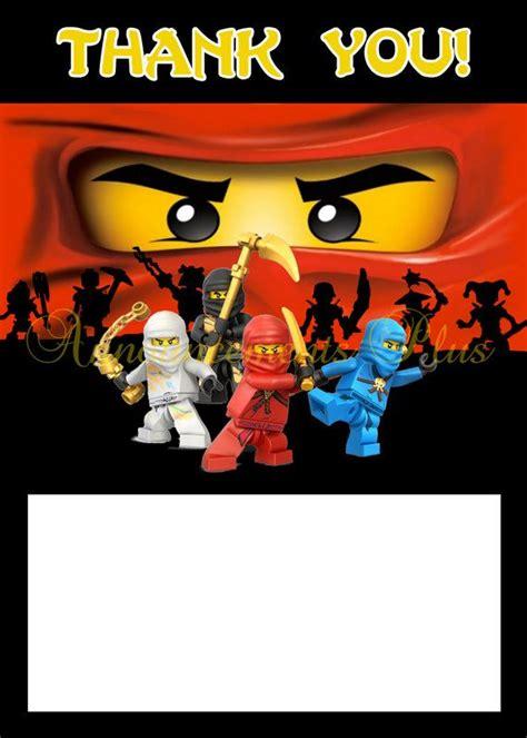 ninjago birthday card template 24 best ninjago images on ninjago