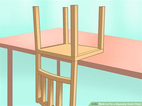How To Fix Squeaky Chair by How To Fix A Squeaky Desk Chair 12 Steps With Pictures