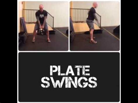 kettlebell swing alternative plate swings an alternative to the kettlebell swing