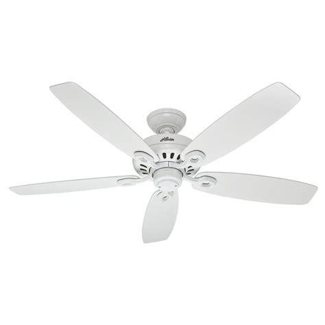 white flush mount ceiling fan shop markham 52 in white downrod or flush
