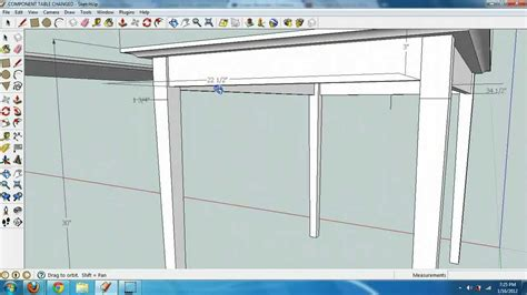 sketchup layout table 1 creating a table in google sketchup with components
