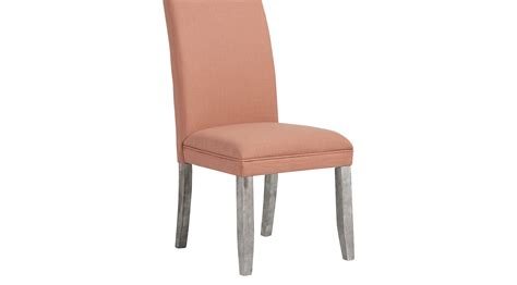 Tulip Chair Dimensions by Tulip Curry Side Chair With Gray Legs Upholstered