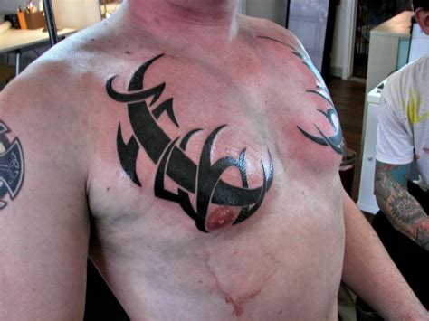 tribal tattoos under breast tattoos ideas 21 and wallpaper page 2