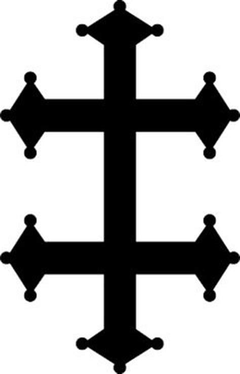 cross of lorraine tattoo 1000 ideas about white cross tattoos on cross