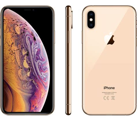 buy apple iphone xs 512 gb gold free delivery currys