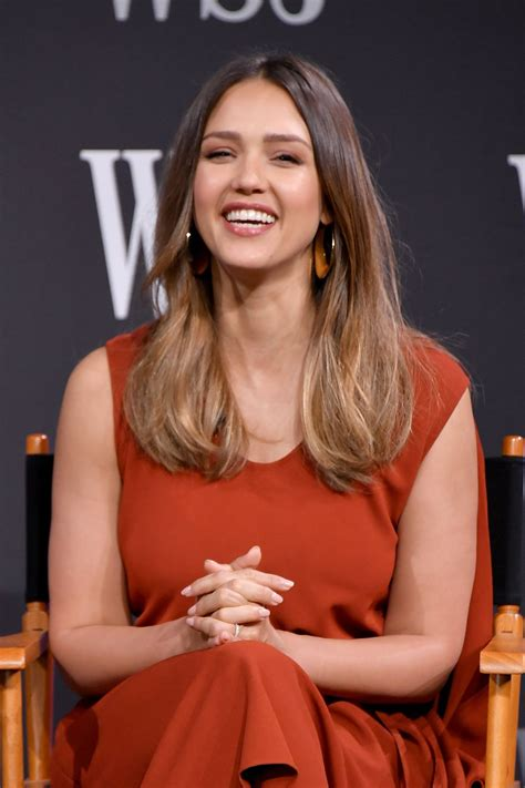 focused on the future jessica alba liked what she saw on thursday as jessica alba at wsj future of everything festival in new