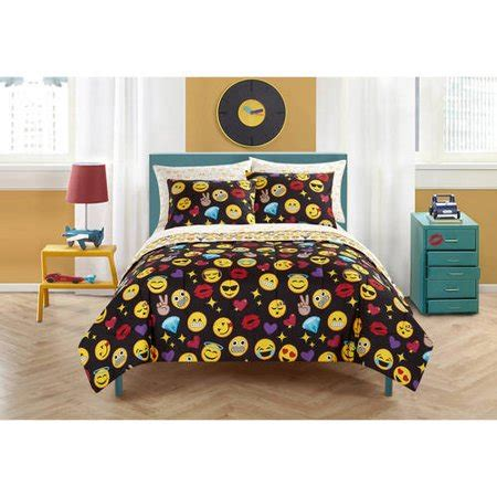 Bed Emoji by Emoji Pals Bed In A Bag Walmart