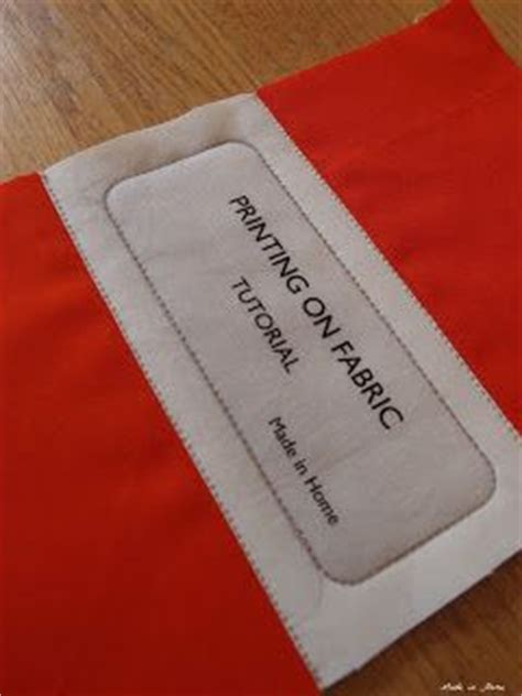 Printing Quilt Labels On Fabric by Printing Your Own Quilt Labels Made In Home Printing On