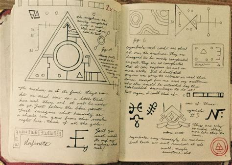 printable journal pages gravity falls gravity falls journal 3 replica photocopied page by