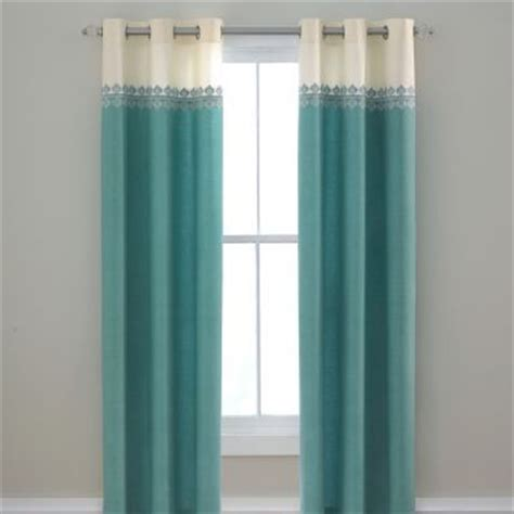 turquoise and cream curtains turquoise white cream ivory off white curtains drapes teen