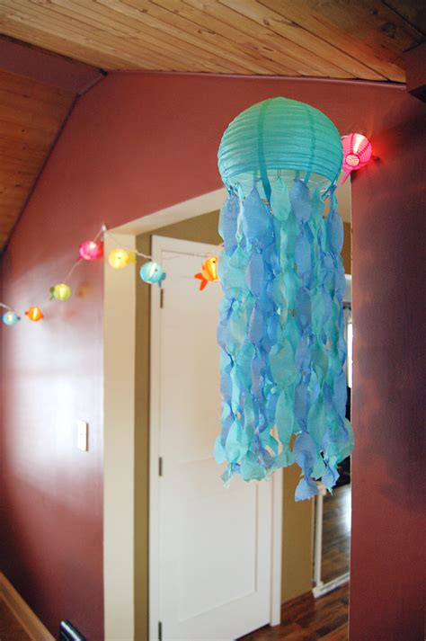 How To Make Crepe Paper Lanterns - jellyfish lanterns banana mustache