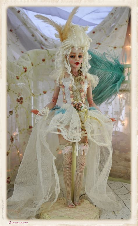 jointed dolls australia capucine rococo jointed doll by sutherlandart on