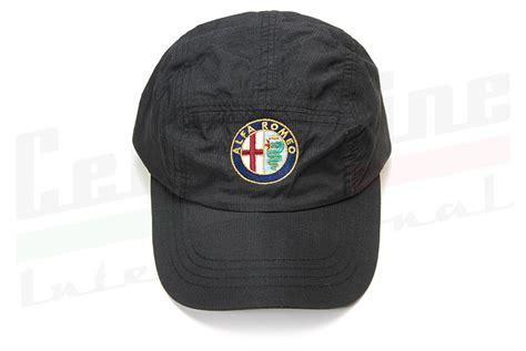 Alfa Romeo Hat by Alfa Romeo Hat Black Centerline International