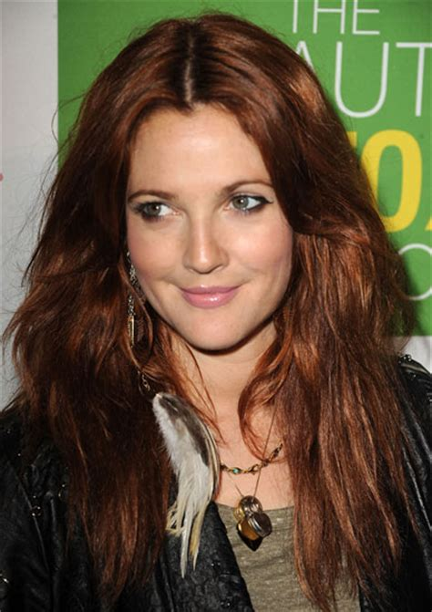 drew barrymore hair color drew barrymore s new hair color popsugar