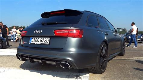 Audi Rs6 Youtube by Audi Rs6 Avant Exhaust Sound Youtube