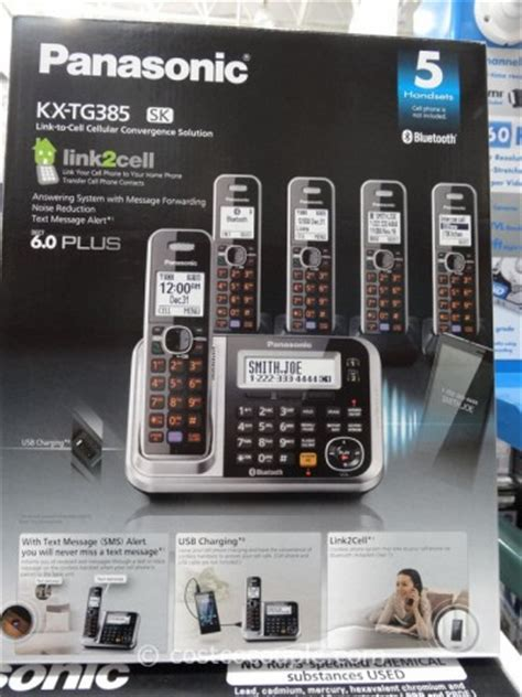 Telephone Panasonic Kx Tg7841 panasonic phones panasonic phones tg385sk