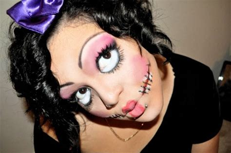 halloween hairstyles for vires 15 scary halloween face make up looks ideas 2012 girlshue