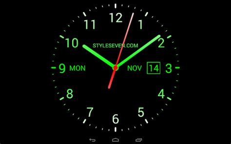 analog clock  wallpaper  android apps  google play