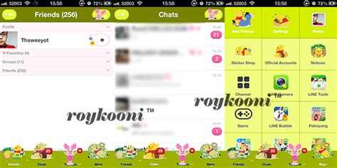 theme line android baby pooh เปล ยน theme line android one piece