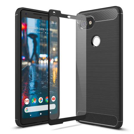 olixar sentinel google pixel  xl case  glass screen