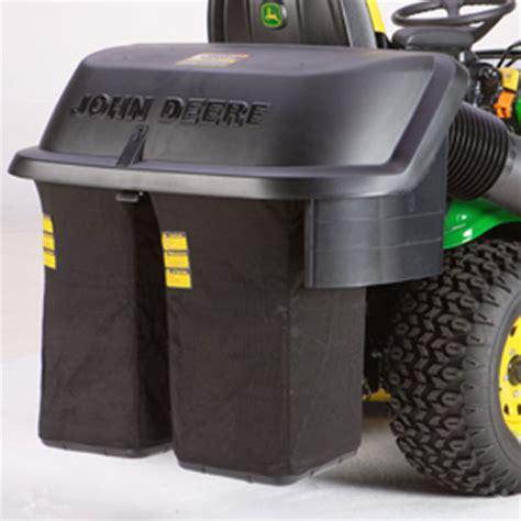 john deere 7 bushel 2 bag rear bagger hopper assembly