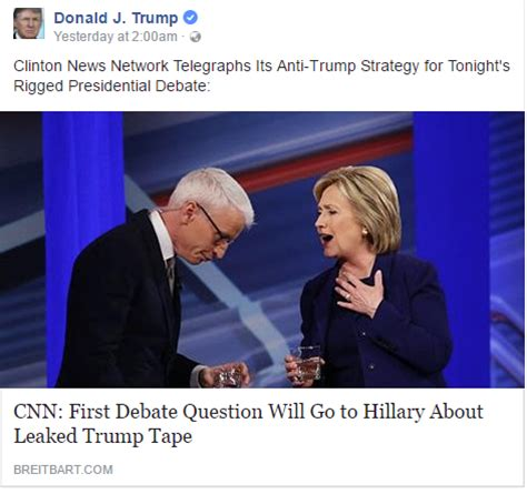 donald trump news today cnn donald trump quoted cnn as clinton news network