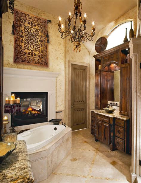 Traditional Master Bathroom Ideas Tuscan Master Bath Traditional Bathroom Dallas By Design Build