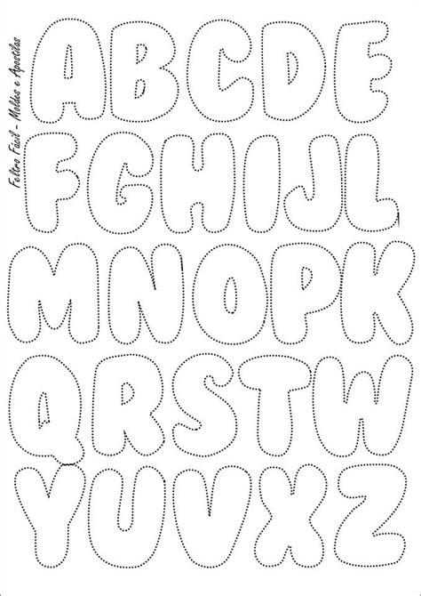 bubble letter template  printable letters  numbers    alphabet templates