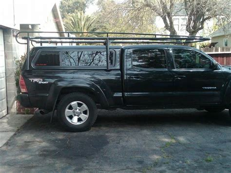anyone a ladder rack and shell tacoma world