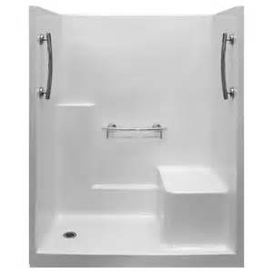 imperial 60 x 32 one low threshold shower stall