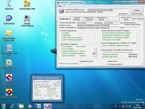 test windows 7 lawfirm mit windows 7 beta getestet bildergalerie