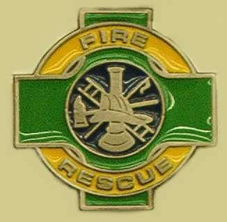 Quot Fire Rescue Quot Heavy Cast Epoxy Inlay Buckle Eb2435