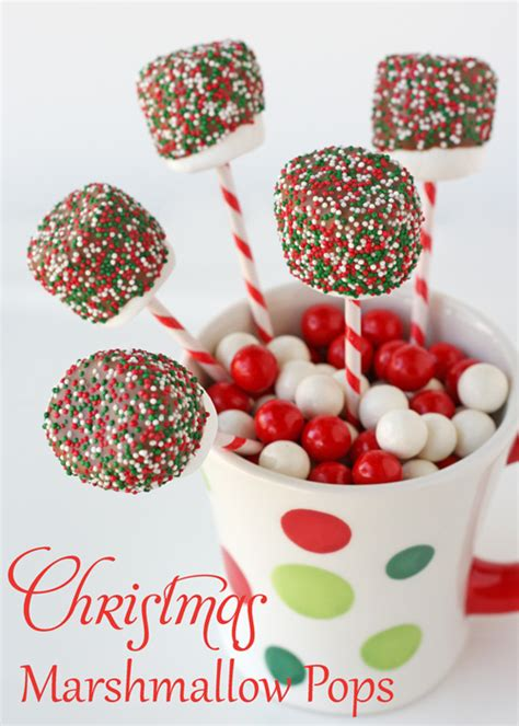marshmallow crafts for xmas marshmallow pops glorious treats