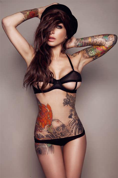 girl wear tattoo underwear underwear lingerie lingerie set black underwear black