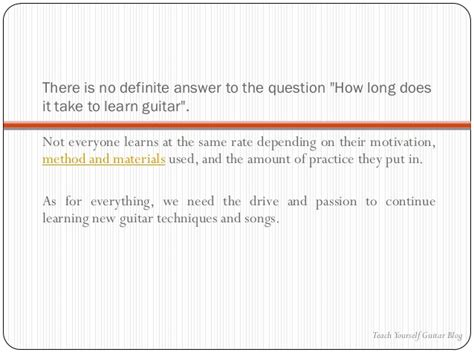 how long does it take to learn to ride a horse the how long does it take to learn guitar