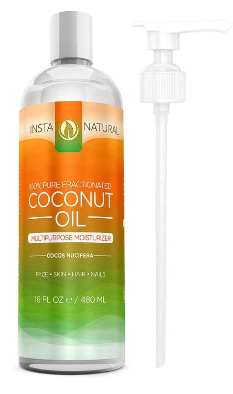 coconut skin 100 fractionated coconut liquid moisturizer for skin ebay