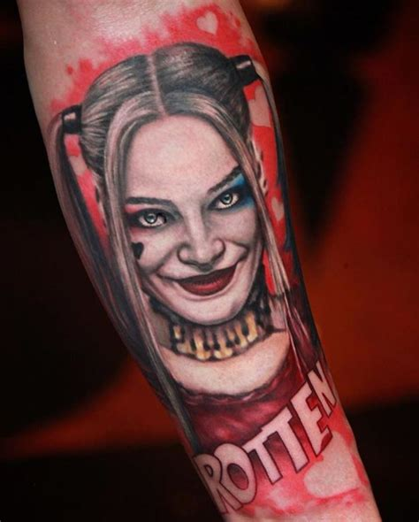 outstanding harley quinn tattoo inkstylemag