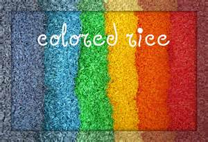 colored rice peaceful colored rice 0