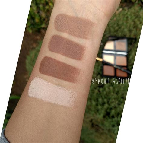 Creations Highight Dupe Abh Illuminating Pallete contour palette contour contour palette and