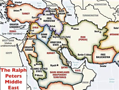 russia and middle east map quiz ralph peters thinking the unthinkable geocurrents
