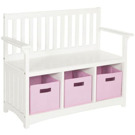 kids storage bench in kids furniture